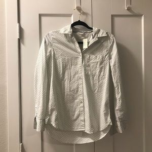 Aeropostale button down with polka dots